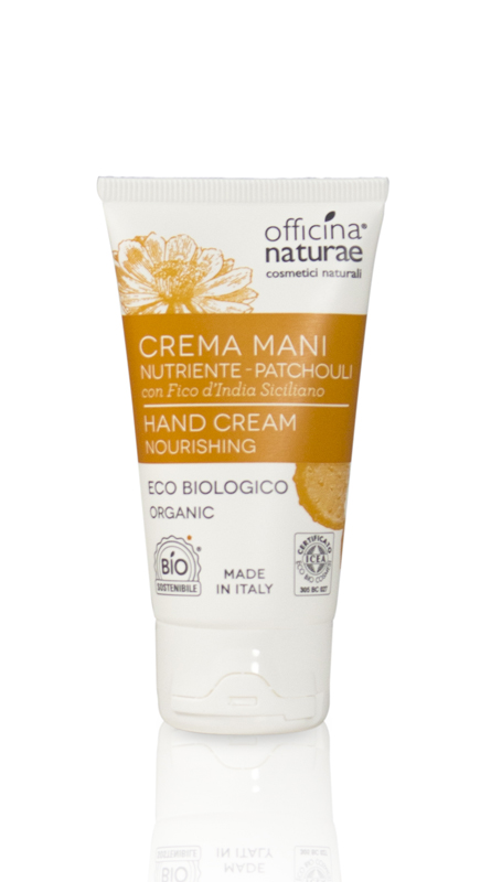 Crema Mani Nutriente Pachouli Officina Naturae 50ml
