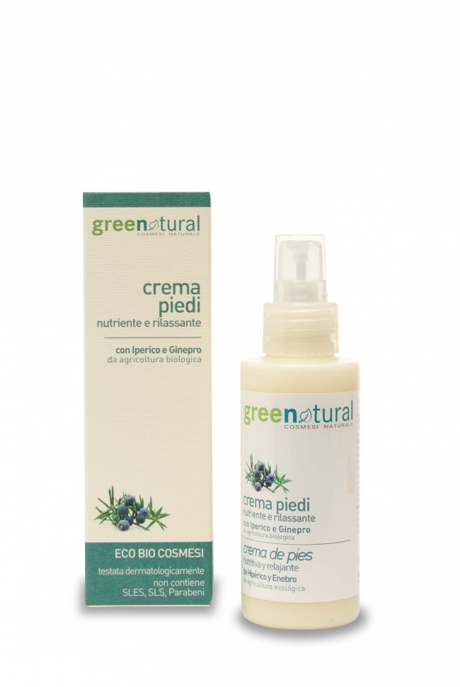 Crema Piedi Green Natural 100ml