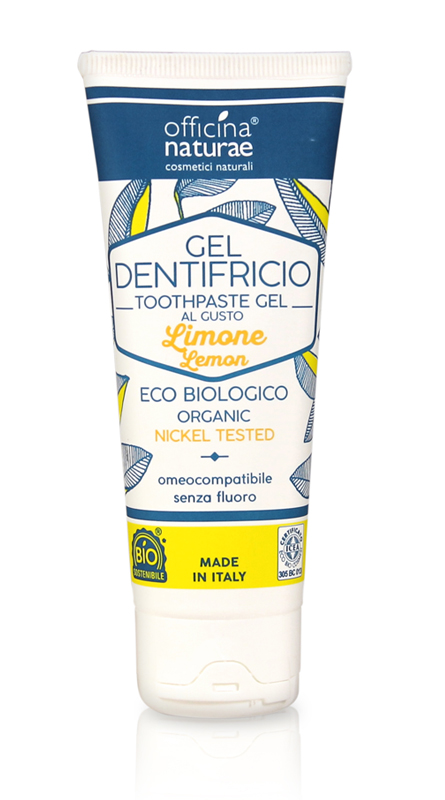 Dentifricio Naturale Limone Officina Naturae 75ml