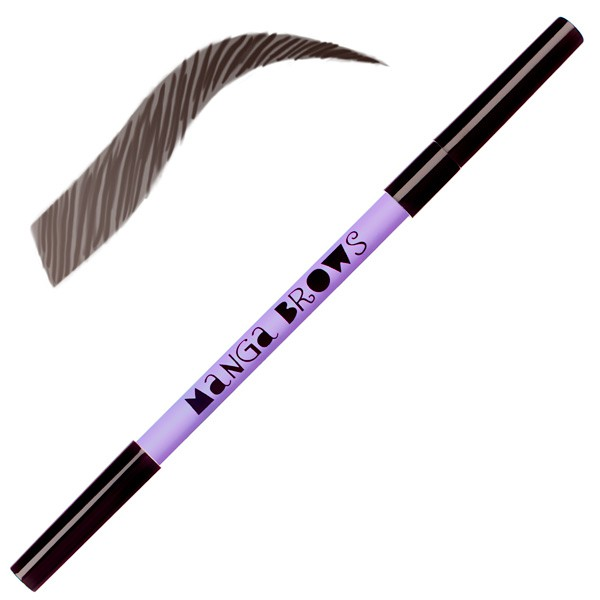 Manga Brows deep ebony & pure black